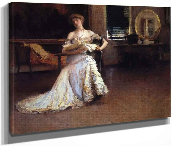 Quiet Afternoon By Edmund Tarbell