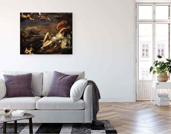 Rape Of Europa By Titian