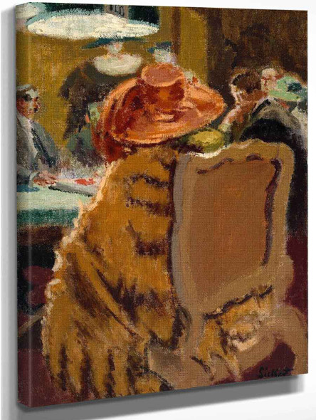 Baccarat The Fur Cape By Walter Richard Sickert By Walter Richard Sickert