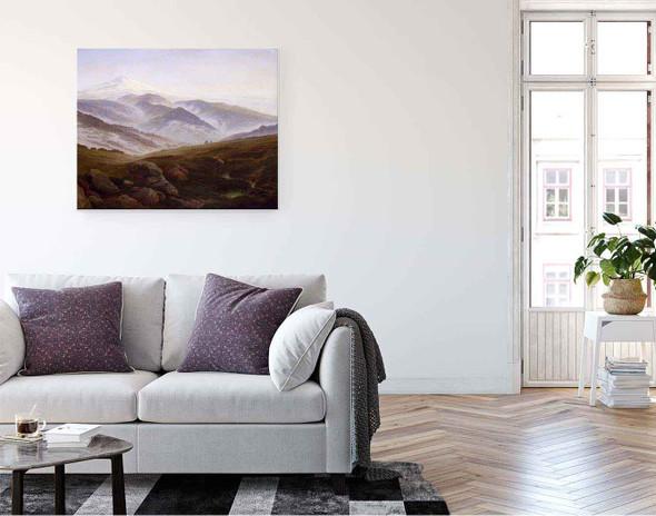 Riesengebirge By Caspar David Friedrich