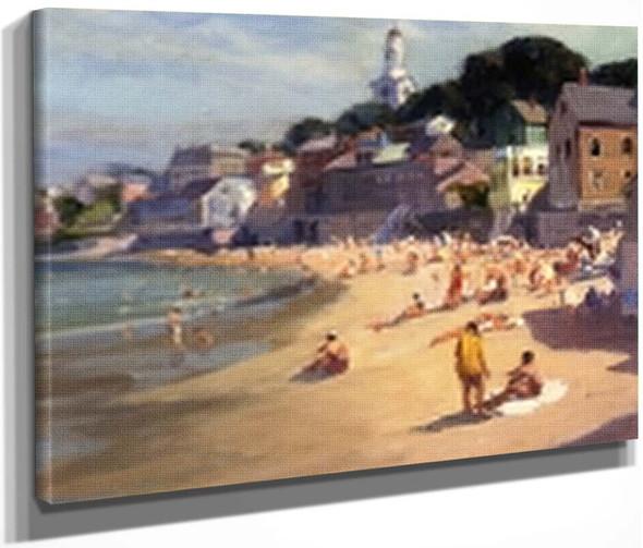 Rockport Beach By Emile Albert Gruppe