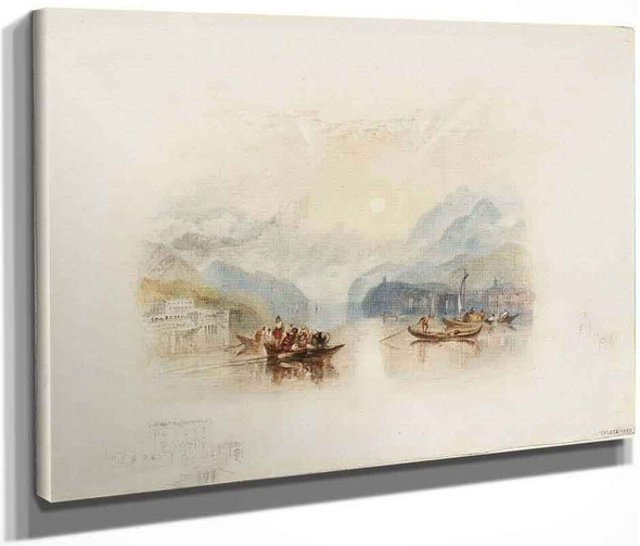 Rogers's 'Italy' Lake Of Como I By Joseph Mallord William Turner