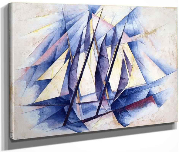 Sail In Two Movements By Charles Demuth By Charles Demuth