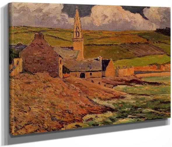 Saint Michel's Church By Maxime Maufra By Maxime Maufra