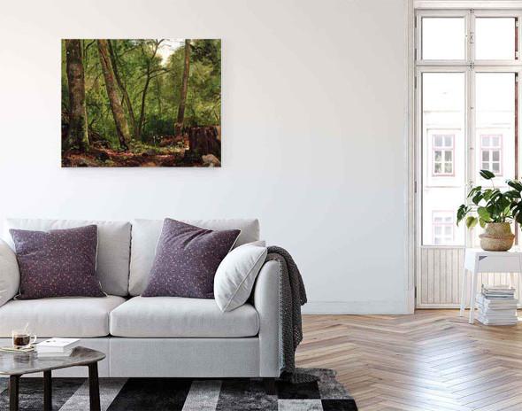 Scalp Level Landscape By George Hetzel