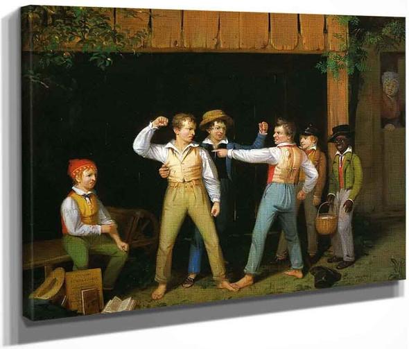School Boys Quarreling By William Sidney Mount