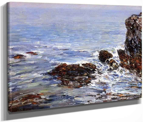 Seascape By Frederick Childe Hassam  By Frederick Childe Hassam
