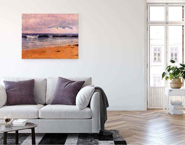 Seascape By Thomas Worthington Whittredge