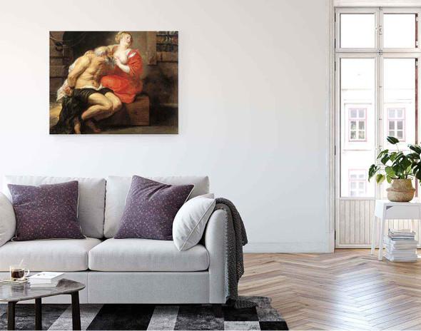 Simon And Pero  By Peter Paul Rubens By Peter Paul Rubens