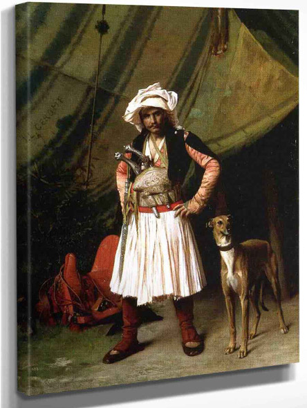 Bashi Bazouk And His Dog By Jean Leon Gerome
