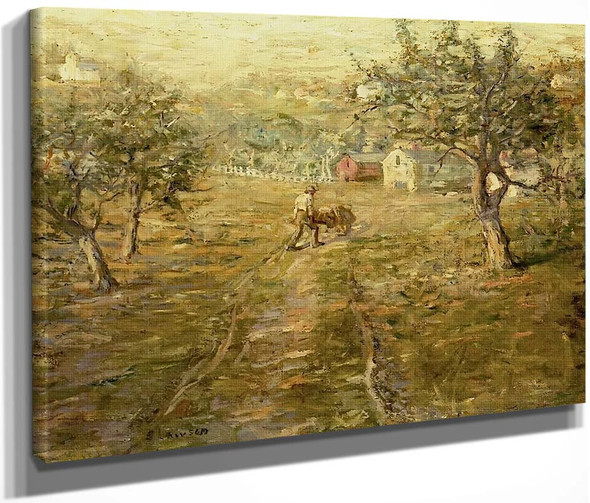 Spring Orchards By Ernest Lawson