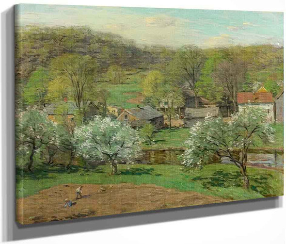 Spring Planting By Willard Leroy Metcalf By Willard Leroy Metcalf