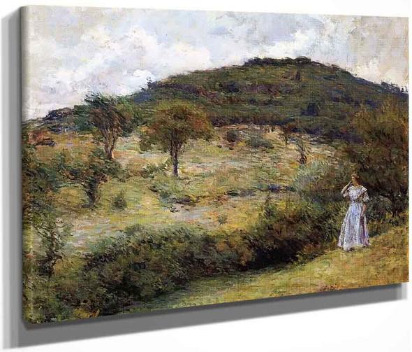Springtime Stroll By Robert Lewis Reid