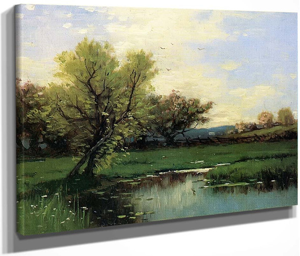 Springtime By Alfred Thompson Bricher By Alfred Thompson Bricher