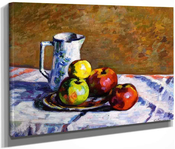 Still Life With Apples2 By Armand Guillaumin