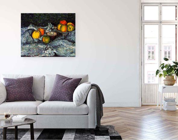 Still Life With Apples By Alexei Jawlensky By Alexei Jawlensky