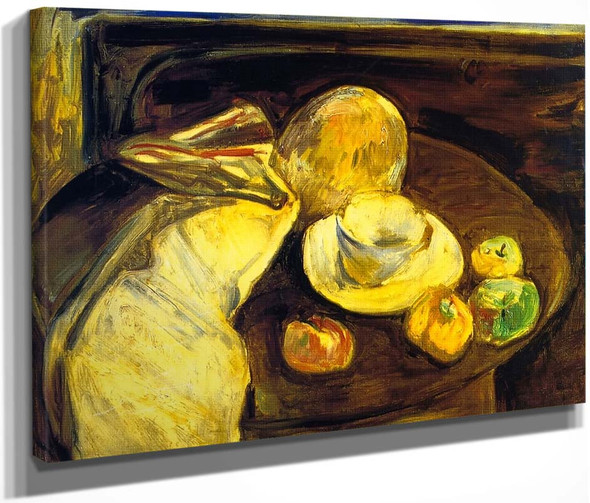 Still Life With Apples By Alfred Henry Maurer By Alfred Henry Maurer