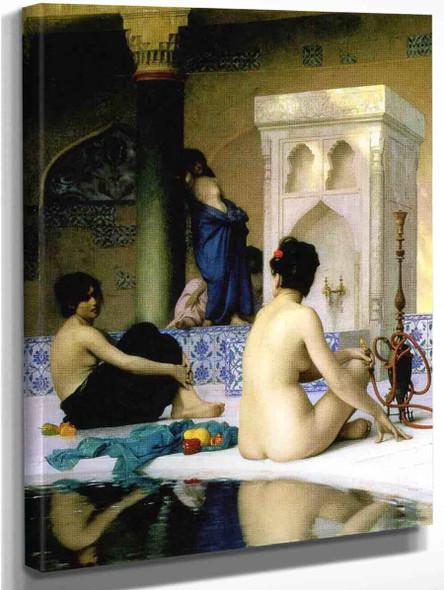 Bathing Scene By Jean Leon Gerome