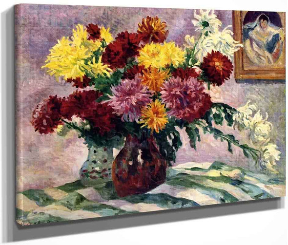Still Life By Maximilien Luce By Maximilien Luce
