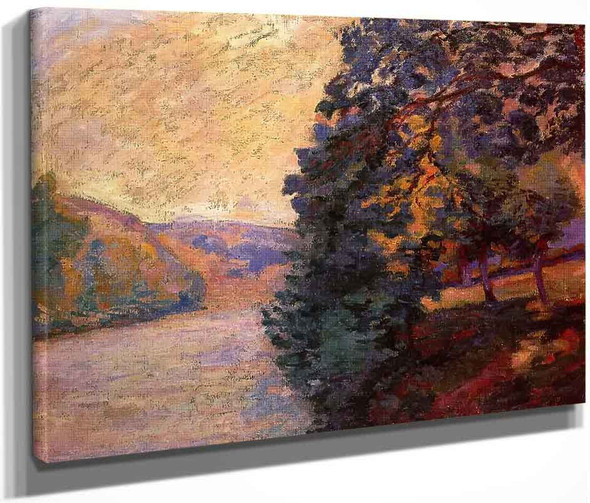 Sunrise In Crozant By Armand Guillaumin
