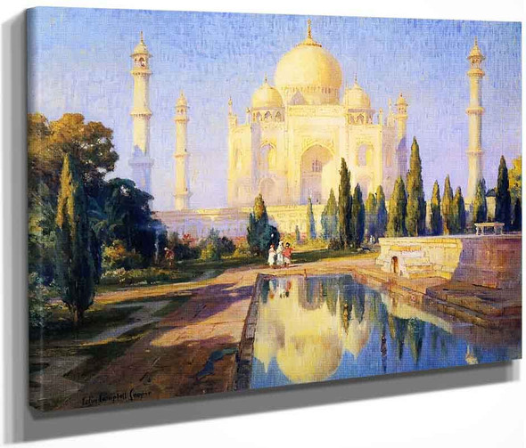 Taj Majal, Afternoon By Colin Campbell Cooper By Colin Campbell Cooper
