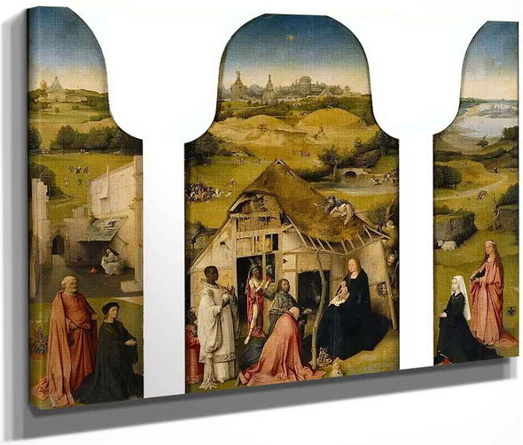 The Adoration Of The Magi1 By Hieronymus Bosch