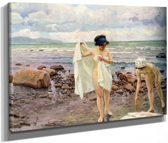 The Bathers By Paul Gustave Fischer By Paul Gustave Fischer