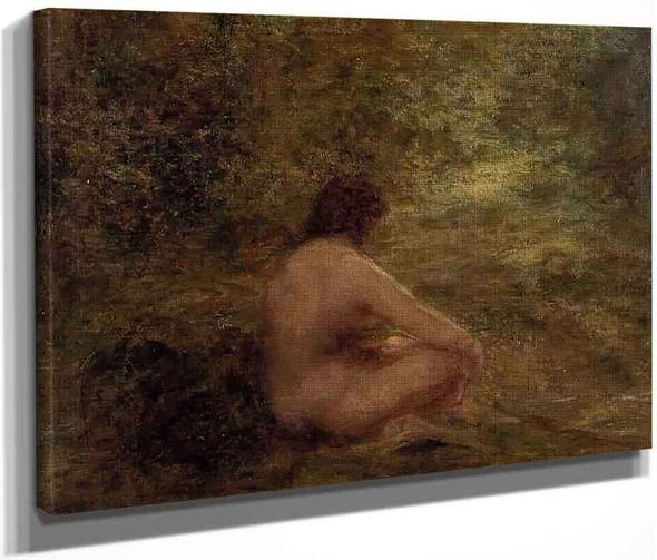 The Bather By Henri Fantin Latour By Henri Fantin Latour