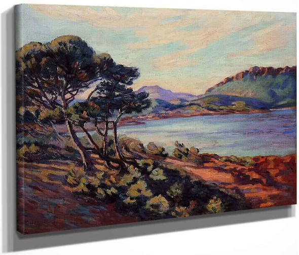 The Bay At Agay By Armand Guillaumin