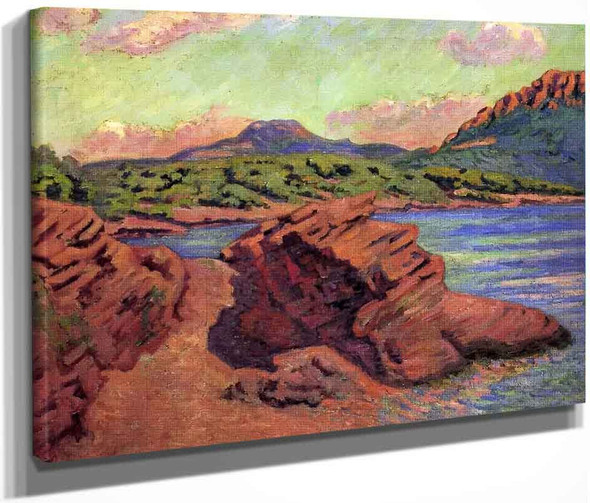 The Bay Of Agay By Armand Guillaumin