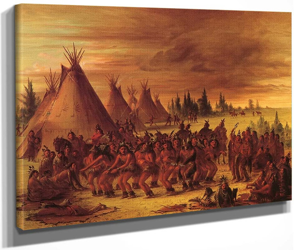The Bear Dance  By George Catlin By George Catlin
