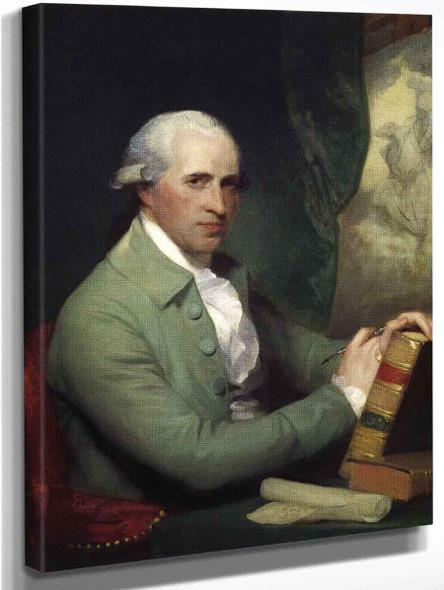 Benjamin West By Gilbert Stuart