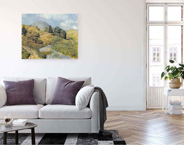 The Blossling In Bernau By Hans Thoma