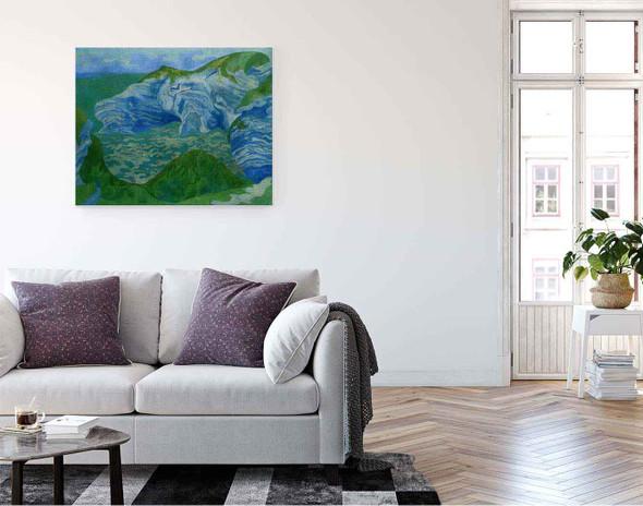 The Blue Cliffs By Paul Ranson