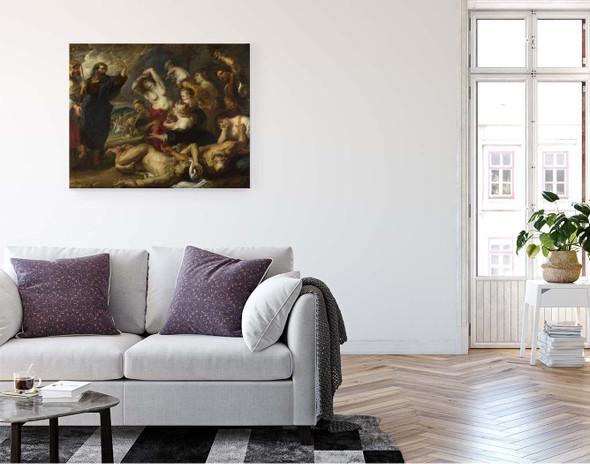 The Brazen Serpent By Peter Paul Rubens By Peter Paul Rubens