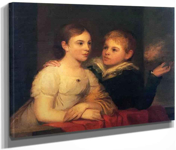 The Brinton Children By Thomas Sully