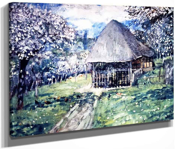 The Carriage House  By Frederick Carl Frieseke By Frederick Carl Frieseke