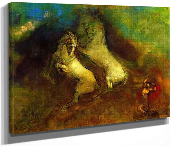 The Chariot Of Apollo3 By Odilon Redon By Odilon Redon