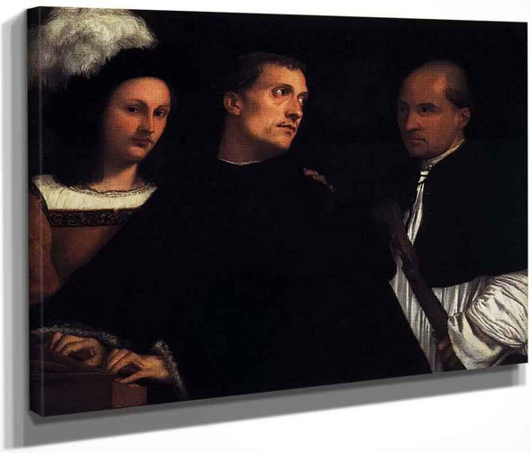 The Concert By Titian