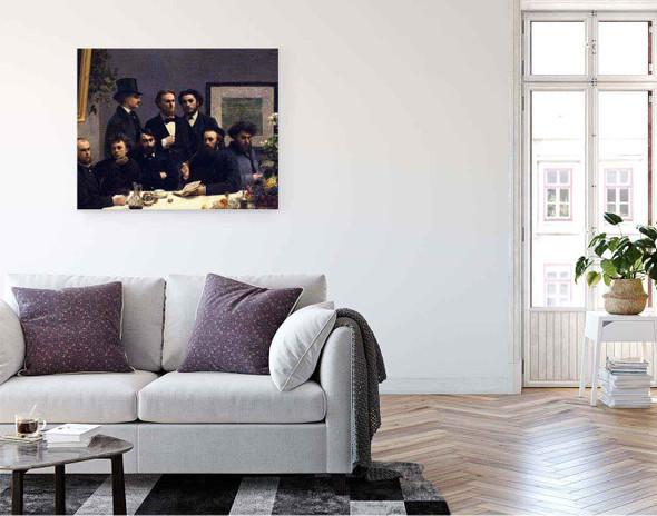 The Corner Of The Table By Henri Fantin Latour By Henri Fantin Latour