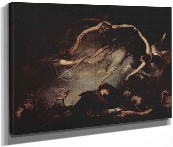 The Dream Of The Shepherd By Henry Fuseli  By Henry Fuseli