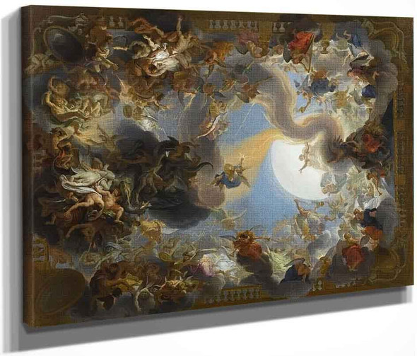 The Fall Of The Rebel Angels By Charles Le Brun By Charles Le Brun