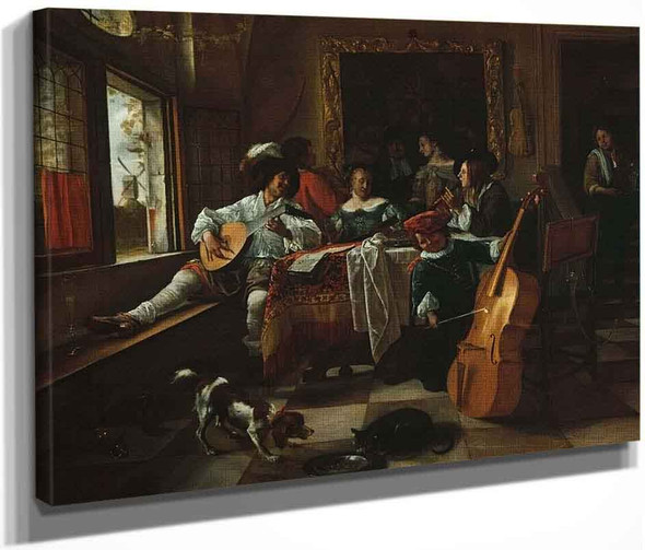 The Family Concert By Jan Steen