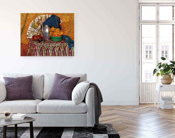 The Fan By Georges Lemmen