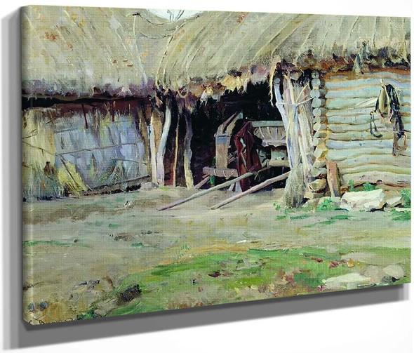 The Farm By Sergei Arsenevich Vinogradov Russian 1869 1938