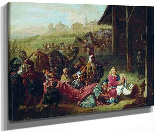 The Holy Family By Hendryk Siemiradzki