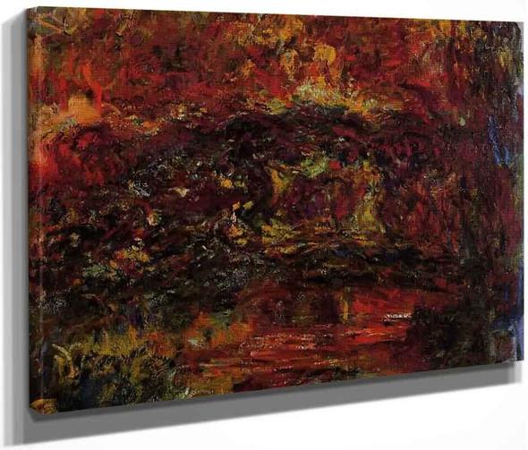 The Japanese Bridge8 By Claude Oscar Monet