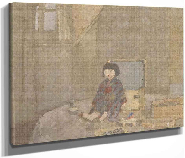 The Japanese Doll By Gwen John