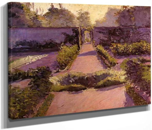 The Kitchen Garden, Yerres 2 By Gustave Caillebotte By Gustave Caillebotte