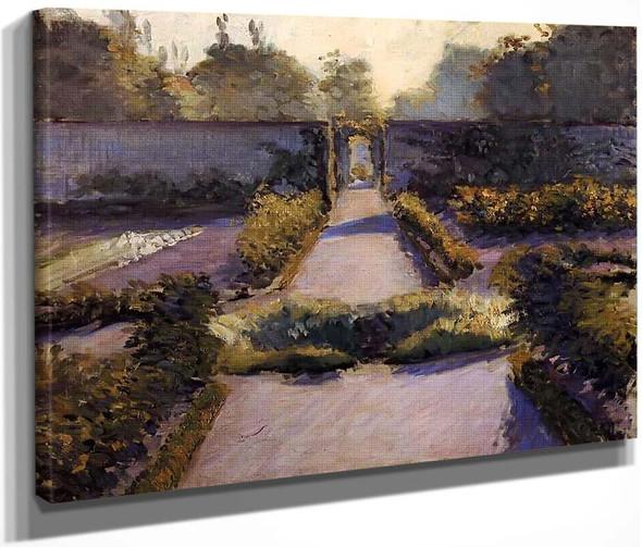 The Kitchen Garden, Yerres By Gustave Caillebotte By Gustave Caillebotte